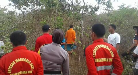 Manggala Agni Daops Gowa dan Polsek Manuju Gelar Patroli Hutan