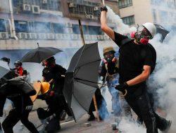 Aksi Demonstrasi di Hongkong Kembali Memanas
