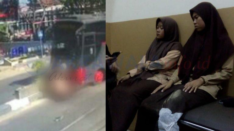 UPDATE : Kondisi Kedua Pelajar yang Ditabrak Bus di Takalar