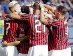 Tepis Kemenangan, AC Milan Taklukkan Brescia