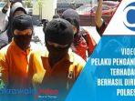 VIDEO : Dua Pelaku Aniaya Guru SD saat Digiring Polres Gowa