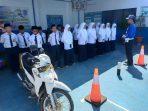Puluhan Pelajar MTs Madani Gowa Diberi Bekal Edukasi Tatib Lalu Lintas