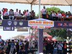 113 Personel Polres Gowa Ditejungkan Amankan Drag Bike Pattallassang