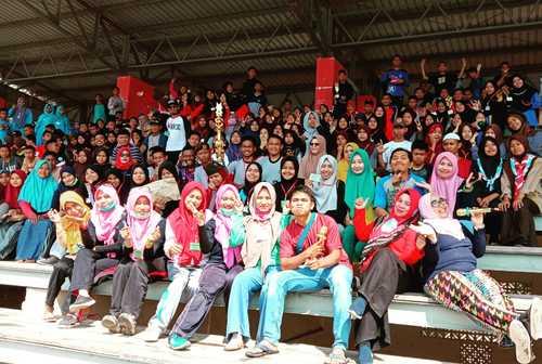 Kemah Temu Kader Kesehatan Remaja SBH Jeneponto Hadirkan 360 Orang