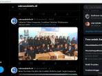Hastag di Twitter #BesokMatikanTVSeharian Tranding Indonesia