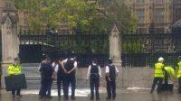 Nyaris Bakar Diri di Gerbang Parlemen, Polisi di Inggris Berhasil Lerai