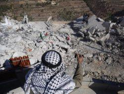 Israel Hancurkan Rumah 4 Warga Palestina yang Bunuh Tentara Israel