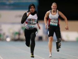 Gadis Tunadaksa, Evi Tiarani Sabet Kejuaraan Atletik Dunia di Dubai