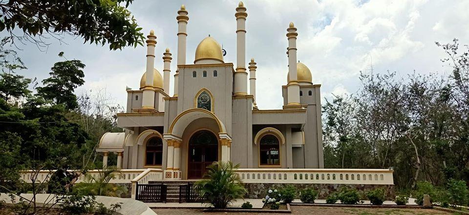 Masya Allah, Warga Sulsel Dibuat Kagum Megahnya Masjid di Tengah Hutan