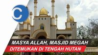 VIDEO: Megahnya Masjid yang Ada di Hutan Gowa