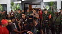 500 Aparat TNI Gelar Kegiatan Aksi Simulasi Konflik Sosial di Takalar