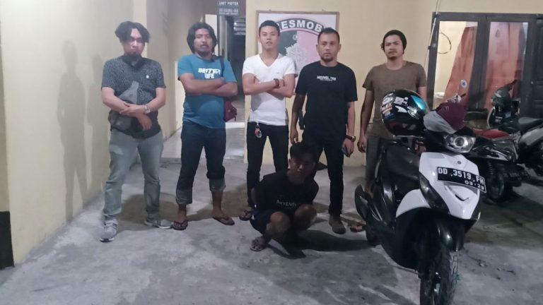 Jambret Hp Warga, Pelaku Berhasil Dibekuk T4P Bantaeng