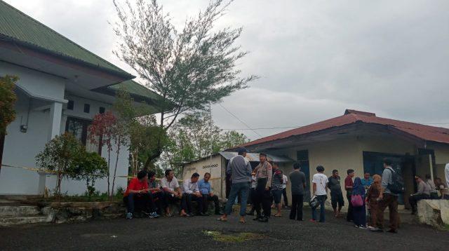 Di Parepare, Ada Ledakan Dahsyat Guncang Kejari
