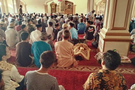Tamrin yang Meninggal Dunia di Masjid Al Abrar Sidrap Pengusaha Pakan Ternak