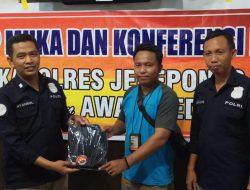 Tatap Muka Dengan Awak Media, Para Jurnalis di Beri Hadia Kapolres Jeneponto