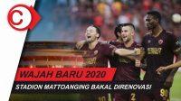 VIDEO: Wajah Baru Stadion Mattoanging 2020