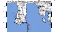 BREAKING NEWS: Gempa Tektonik M 4,3 Guncang Kabupaten Kepulauan Selayar,