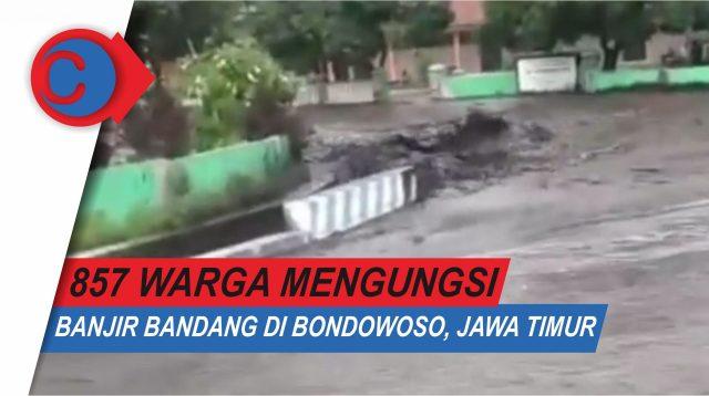 VIDEO: Detik-detik Banjir Bandang di Bondowoso Jawa Timur