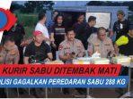 VIDEO: Tiga Kurir Sabu Tewas Ditembak Polisi