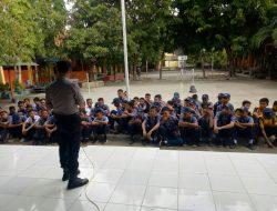 Ajak Para Siswa di Bantaeng Terhindar Penyalahgunaan Narkotika Dan Obat Terlarang, Ini Pesan Kapolsek Bissappu