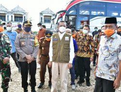 Gubernur Nurdin Abdullah Beri Pengarahan Camat dan Kepala Puskesmas Terkait Covid-19 di Barru