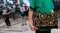 Demonstran di Australia dan Jepang Dukung Gerakan Black Lives Matter