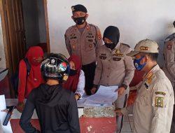 Jajaran TNI-Polri Kembali Gelar Operasi Yustisi Di Sinjai Utara
