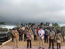 Kapolres Sinjai Hadiri Peresmian Jaringan Listrik Pedesaan Di Kecamatan Sinjai Borong