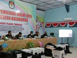 KPU Gelar Rapat Pleno Hasil Perhitungan Suara dalam Pilkada Bulukumba Tahun 2020