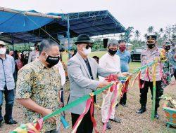 Bupati Enrekang Resmikan Sanitasi PAMSIMAS, 165 Rumah Nikmati Air Bersih