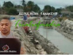 Pengerjaan Proyek Transmigrasi di Pulau Tanakeke Diduga Asal Jadi, Masyarakat Akan Melapor ke APH