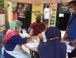 Antisipasi Penyebaran Virus Corona, 11 Tahanan Di Polres Gowa Tes Swab Sebelum Dikirim ke Rutan