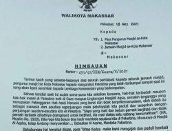 Wali Kota Makassar Menghimbau Masyarakat untuk Membantu Palestina