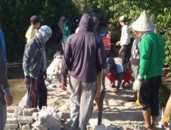 Pimpin Perbaikan Jalan Rusak, Akhmad Dg. Beta Mendapat Apresiasi dari Pemdes Balangdatu