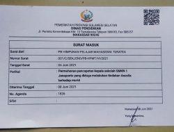 Kasus Dugaan Pencabulan oleh Oknum Kepsek SMKN 1 Jeneponto Dilaporkan ke Disdik Provinsi