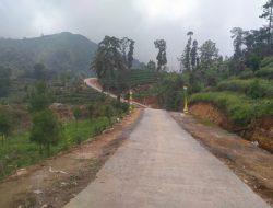 Penampakan Jalan Desa Gerlang Selepas di Kerjakan Satgas TMMD