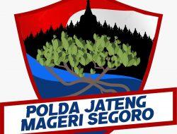 Kick Off Polda Jateng Mageri Segoro di Lengkapi Vaksinasi dan Bagi Sembako