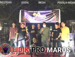 DPD LIDIK PRO Maros Sukses Gelar Live Musik Bersama Musisi Lokal