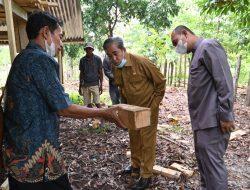 Kembangkan Lebah Tanpa Sengat, Dollah Mando Boyong Lektor Kepala Fakultas Kehutanan Unhas