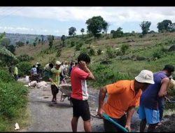 Kurangnya Perhatian Pemerintah, Sudah Bertahun-tahun Jalan Penghubung Dua Desa di Turatea Jeneponto Belum Juga Diperbaiki