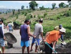 Banyak Warga yang Mengeluh Jalan Rusak di Dua Desa di Turatea, Kadis PUPR Jeneponto: Kami Upayakan Untuk Dianggarkan