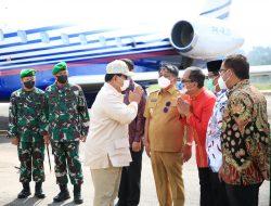 Wali Kota Danny Dampingi Menhan Prabowo Beri Kuliah Umum di UKI Toraja